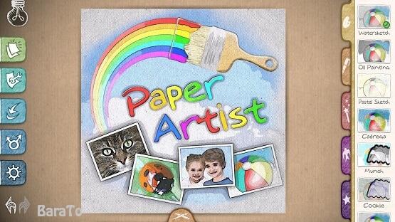 دانلود Paper Artist تبدیل عکس به نقاشی در اندروید