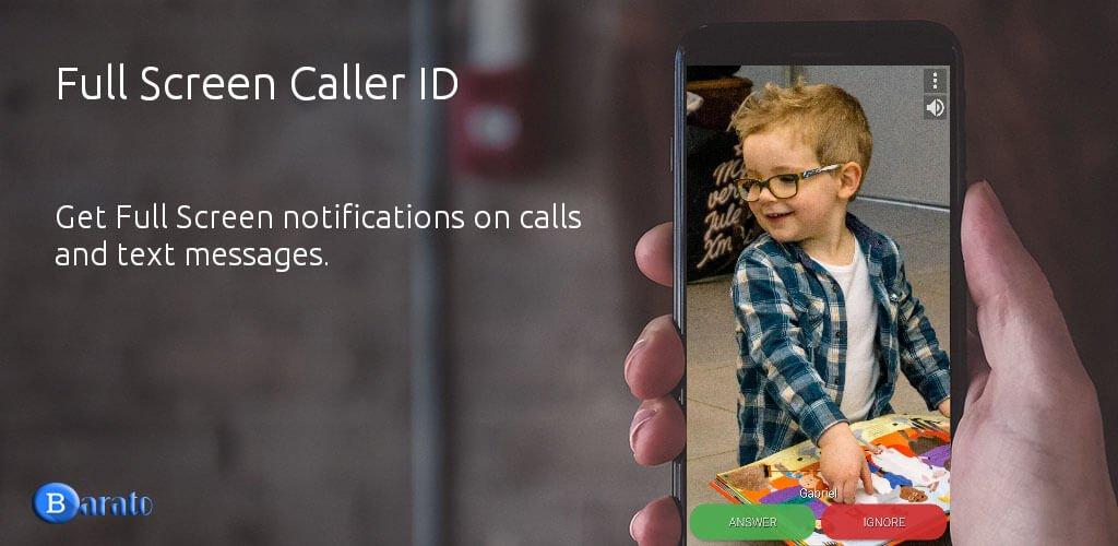 دانلود Full Screen Caller 11.2.4 نمایش تمام صفحه عکس مخاطبین اندروید