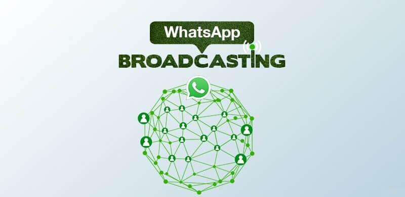 آموزش ارسال پیام برای تمام مخاطبین واتس آپ در اندروید - Broadcast List