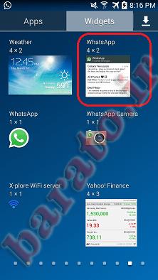 آموزش تصویری مشاهده پیام های واتس آپ بدون تیک آبی در اندروید