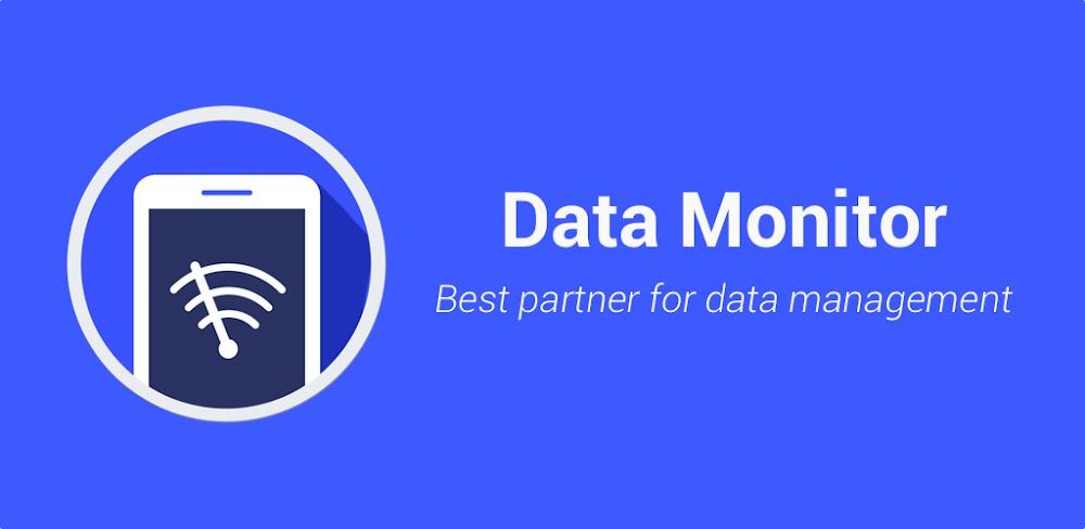 دانلود Data Usage Monitor 1.15.1590 برنامه مدیریت مصرف داده اینترنت اندروید