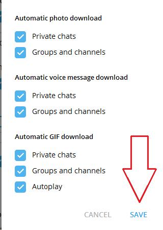 جلوگیری از دانلود خودکار عکس ها در تلگرام اندروید + کامپیوتر