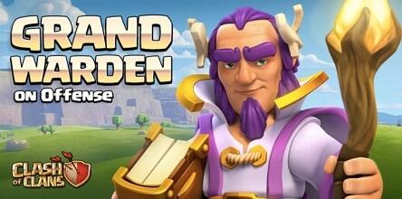 هیرو جدید کلش اف کلنز گرند واردن Grand Warden رئیس بزرگ