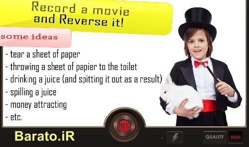 دانلود Reverse Pro فیلم برداری معکوس برای اندروید