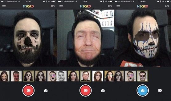 دانلود MSQRD برنامه ام اس کیو ار دی تغییر چهره در اندروید