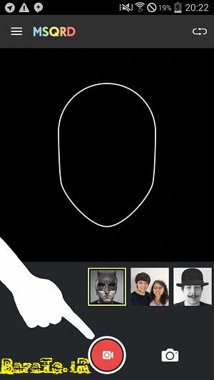 آموزش MSQRD ساخت کلیپ با تغییر چهره در اندروید