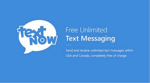 دانلود TextNow تکست نو ساخت شماره مجازی برای اندروید