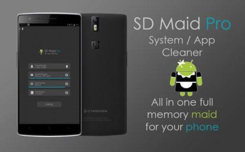 دانلود SD Maid برنامه پاکسازی برای اندروید.