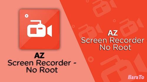 دانلود AZ Screen Recorder برنامه فیلم برداری از صفحه نمایش گشی اندروید