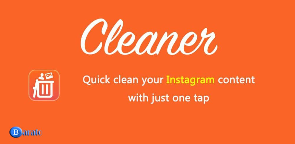 دانلود Cleaner Pro 2.0.0 کلینر برنامه انفالو در اینستاگرام اندروید