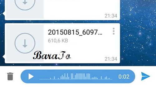آموزش ارسال اهنگ MP3 به صورت ویس با کیفیت در تلگرام