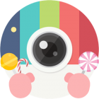 دانلود Candy Camera 3.95 برنامه کندی کمرا برای اندروید