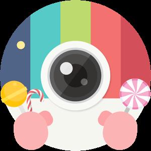 دانلود Candy Camera 3.50 برنامه کندی کمرا برای اندروید