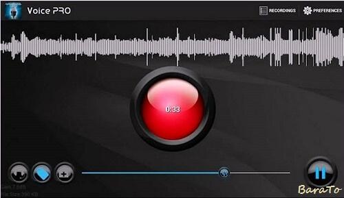 دانلود Voice Pro برنامه ویس ویرایش صدا برای اندروید