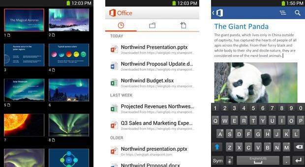 دانلود Microsoft Office برنامه مایکروسافت آفیس برای اندروید