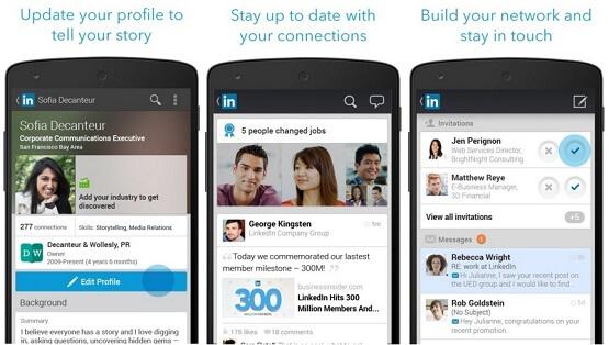 دانلود LinkedIn برنامه لینکدین برای اندروید