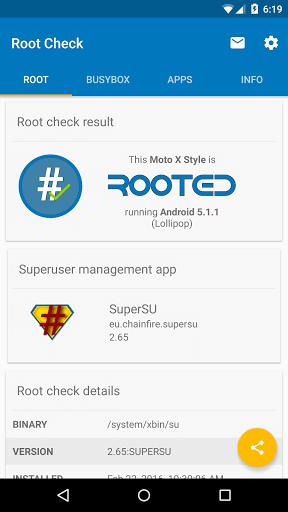 دانلود Root Check روت چک برسی روت بودن گوشی اندروید