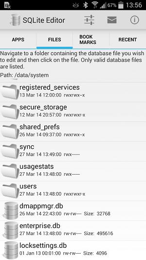 دانلود نسخه جدید SQLite Editorویرایش دیتابیس برنامه اندروید