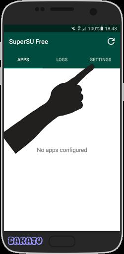 آموزش تصویری آنروت کردن گوشی اندروید - حذف