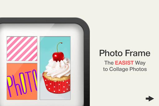 دانلود PhotoFrame ترکیب چند عکس در یک عکس برای اندروید