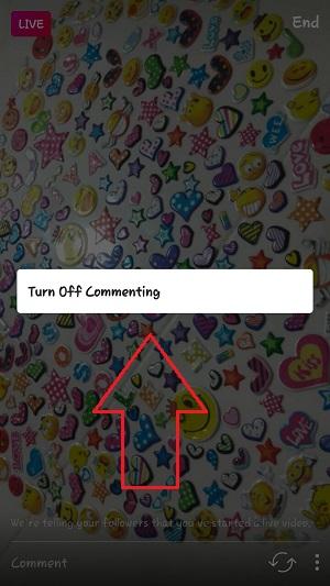 آموزش بستن کامنت در ویدیو انلاین اینستاگرام - لایو استوری