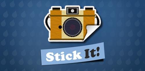 دانلود برنامه حذف قسمت سفید پشت عکس در اندروید StickIt!
