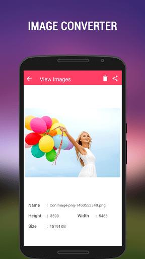 دانلود Image Converter برنامه تغییر پسوند عکس برای اندروید