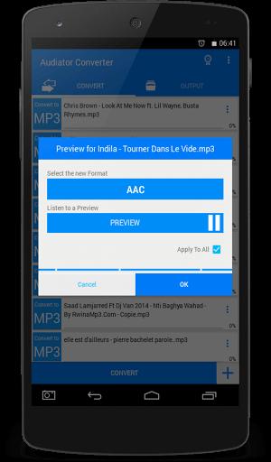 دانلود Audiator Converter PRO نرم افزار تبدیل فرمت برای اندروید
