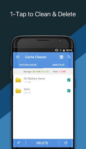 دانلود App Cache Cleaner برنامه حذف کش در اندروید