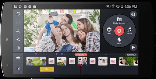 دانلود KineMaster Pro برنامه ویرایش ویدیو در اندروید