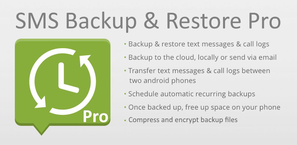 دانلود SMS Backup & Restore Pro 10.05.504 برنامه بکاپ گرفتن از پیامک ها در اندروید