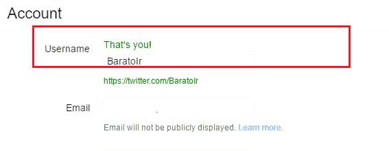 آموزش تصویری تغییر نام کاربری در توییتر - آیدی