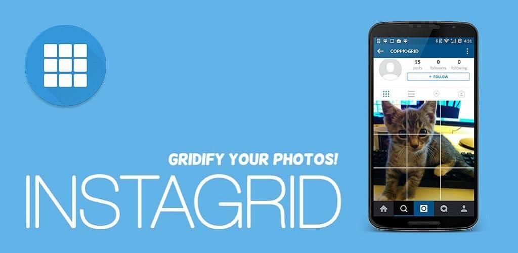دانلود 9square for instagram 3.04 اینستاگرید تبدیل عکس به پازل برای اندروید
