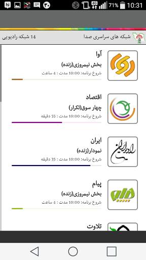 دانلود Iranseda Plus ایرانصدا پلاس پخش زنده رادیو برای اندروید