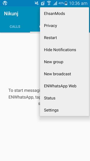 دانلود ENWhatsApp نصب چند واتس آپ در یک گوشی اندروید
