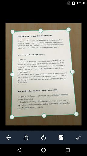 دانلود CamScanner برنامه کم اسکنر برای اندروید CamScanner -Phone PDF Creator