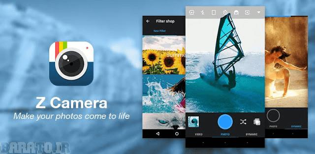 دانلود Z CameraVip برنامه زد کمرا برای اندروید Z Camera - Photo Editor, Beauty Selfie, Collage