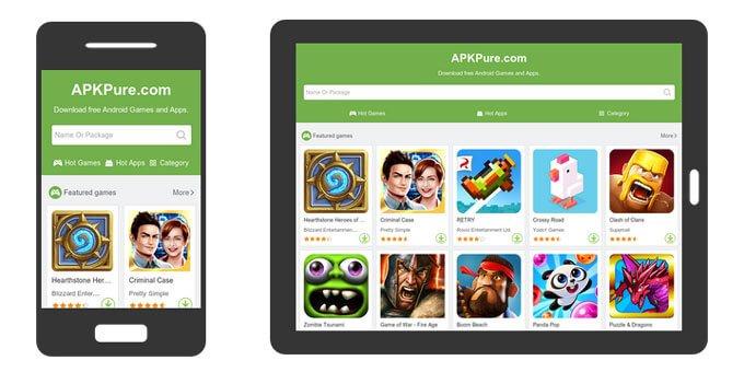 دانلود APKPure 3 11 2 نسخه جدید مارکت خارجی برای اندروید