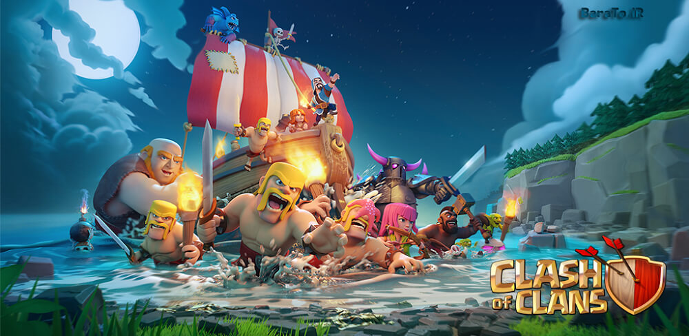 دانلود Clash Of Clans 9.256.20 آپدیت جدید کلش اف کلنز برای اندروید