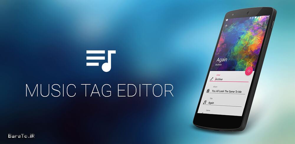 دانلود Music Tag Editor 2.5.1 برنامه ویرایش اطلاعات آهنگ در اندروید