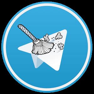 آموزش تصویری حذف کردن تمام پیام ها در سوپر گروه تلگرام اندروید – پاکسازی