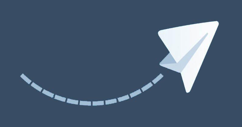 آموزش تصویری ارسال عکس همراه با متن در تلگرام اندروید