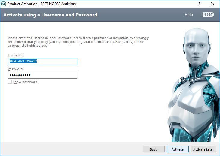 آموزش تصویری آپدیت آنلاین نود 32 ESET NOD در کامپیوتر - ویندوز