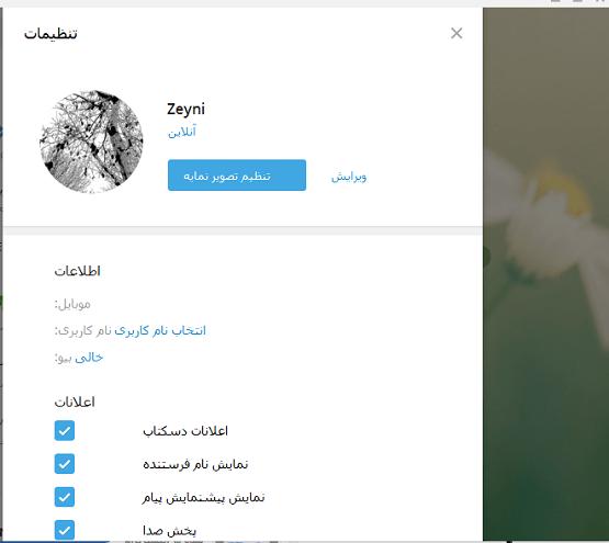 دانلود Telegram Desktop Farsi تلگرام کامپیوتر فارسی - ویندوز + آموزش