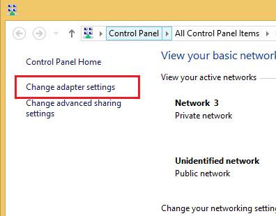 آموزش تصویری قطع اینترنت در کامپیوتر ویندوز 7 - 8 - 10