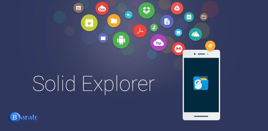 دانلود Solid Explorer 2.5.6 برنامه سالید اکسپلورر برای اندروید
