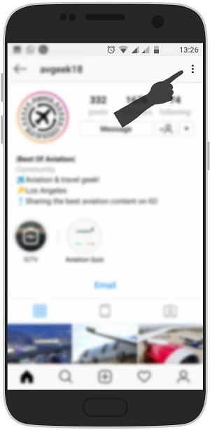 آموزش مخفی کردن پست های یک نفر از پست های جدید اینستاگرام