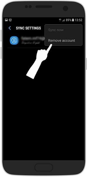 آموزش تصویری حذف سامسونگ اکانت از گوشی اندروید