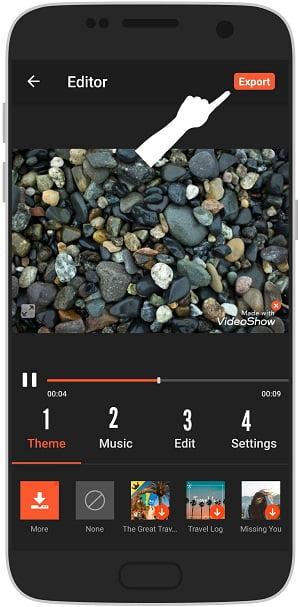 آموزش ساخت کلیپ با موزیک و عکس در ویدیو شو اندروید