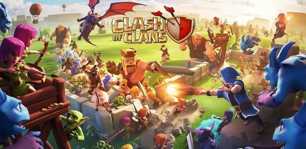 دانلود Clash Of Clans 11.651.1 آپدیت جدید کلش اف کلنز برای اندروید - امروز + کافه بازار